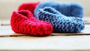 Baby booties knitting patterns for absolute beginners