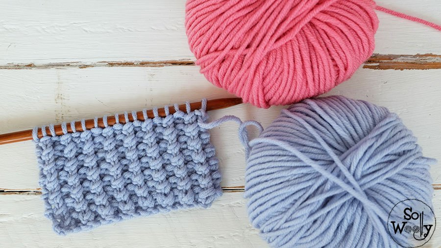Easy Knitting Stitch Pattern For Baby Clothing