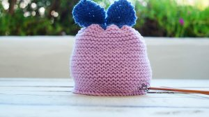 Baby Hat free knitting pattern for beginners