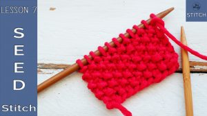How to knit the Seed stitch So Woolly Lesson 7
