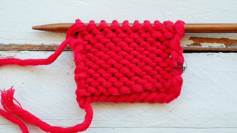 Reverse Stocking stitch So Woolly