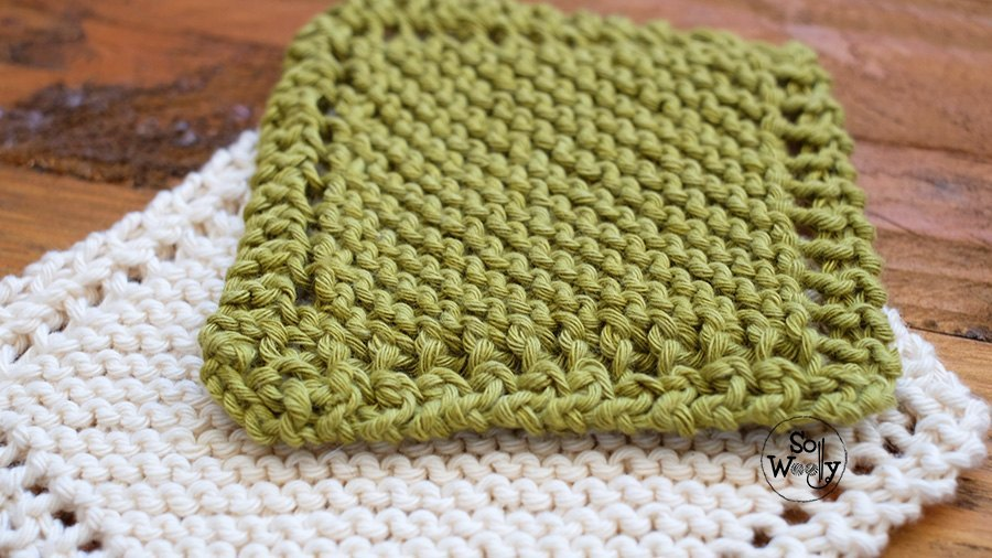 The easiest way to knit a Baby Blanket for beginners