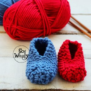 Baby Booties knitting pattern