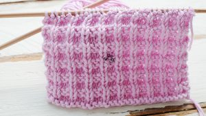 How to knit little boxes stitch step by step video tutorial