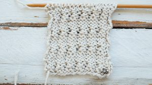 Learn how to cross knitting stitches cable needle