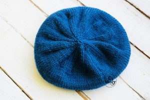 Hipster Hat knitting pattern for beginners step by step