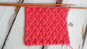 Seersucker stitch knitting pattern for beginners