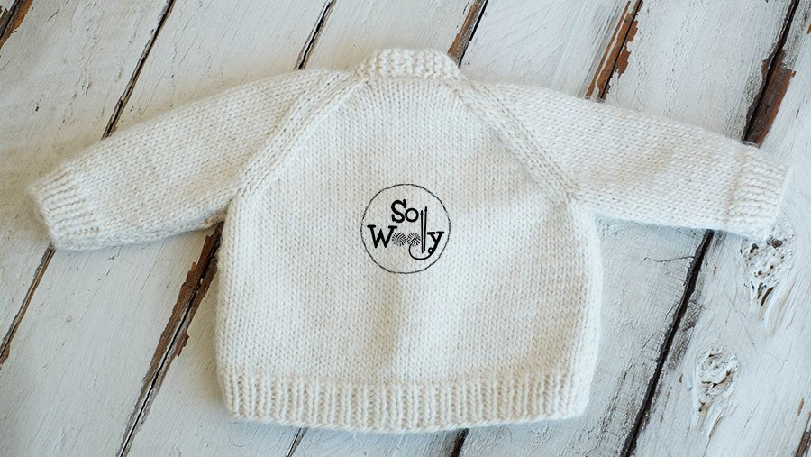 Baby cardigan free knitting pattern step by step