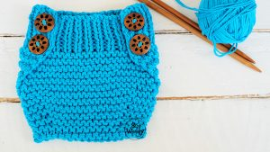 Baby Diaper cover free knitting pattern