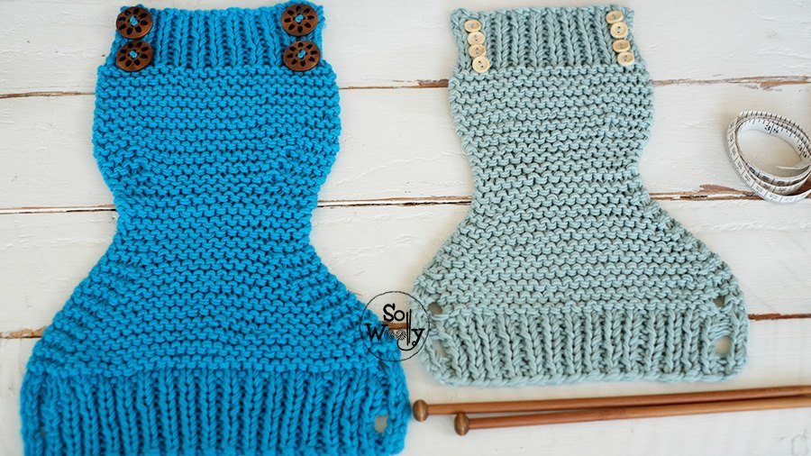 How to knit Diaper Covers for beginners So Woolly