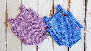 Onesie-Babygro-free-knitting-tutorial