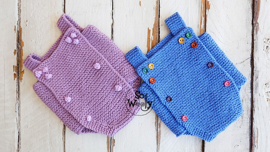 Onesie-Babygro-free-knitting-tutorial