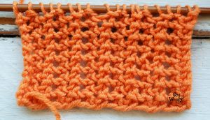 Online knitting stitches dictionary video tutorials