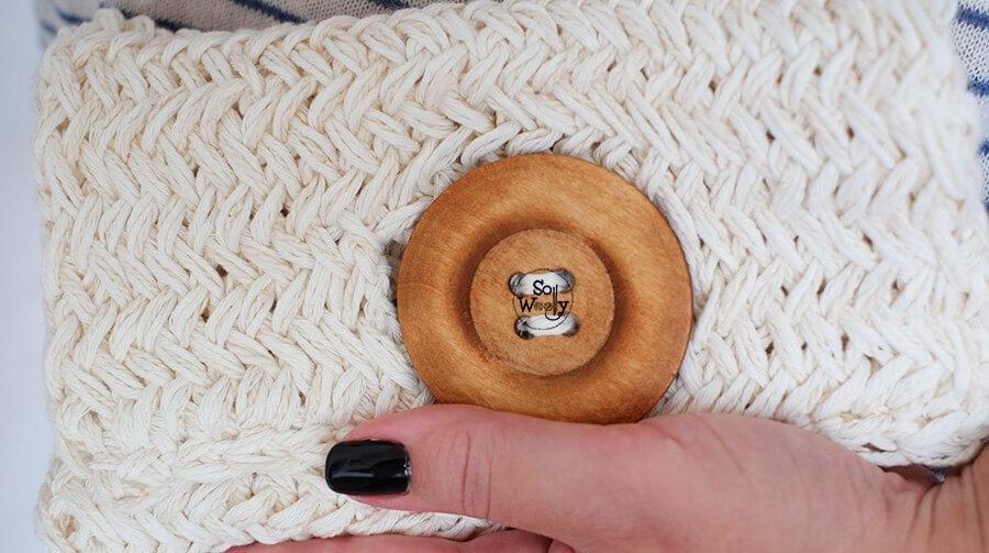 Clutch Bag free knitting pattern