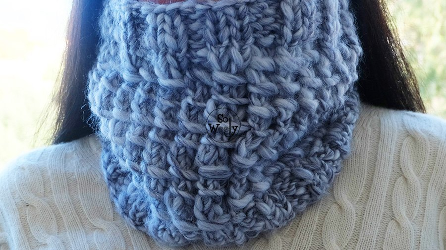 Easy Cowl knitting pattern