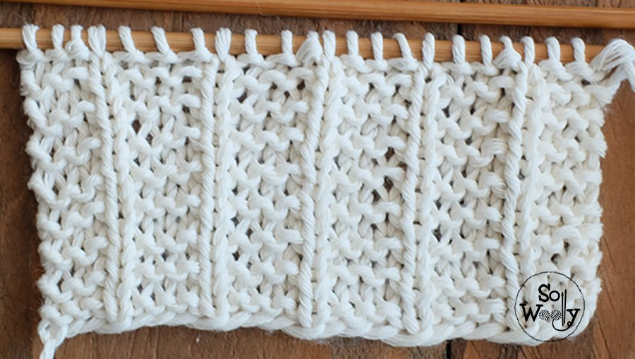 Easy two-row stitch
