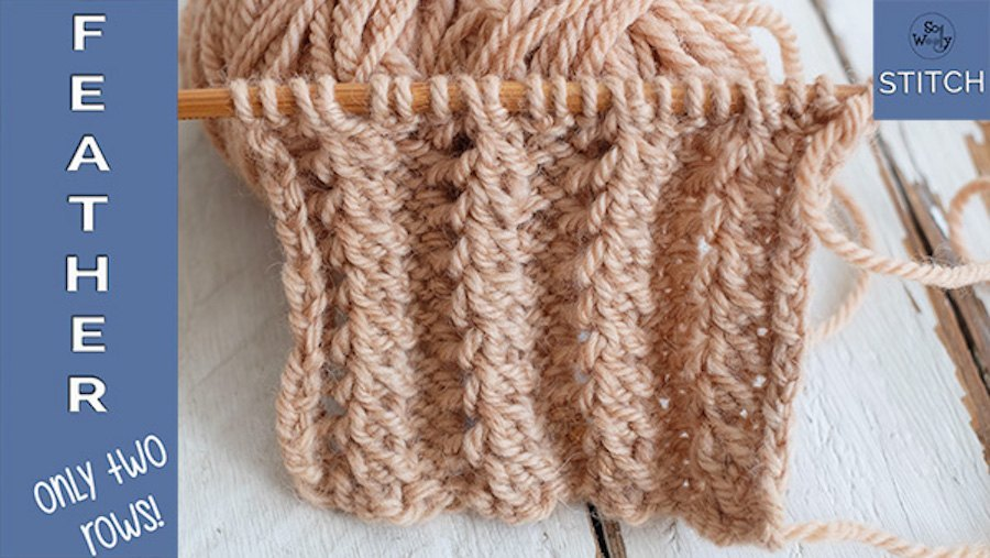 Feather Rib stitch