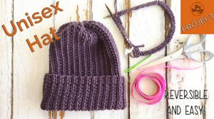 Easy Unisex Hat knitting pattern