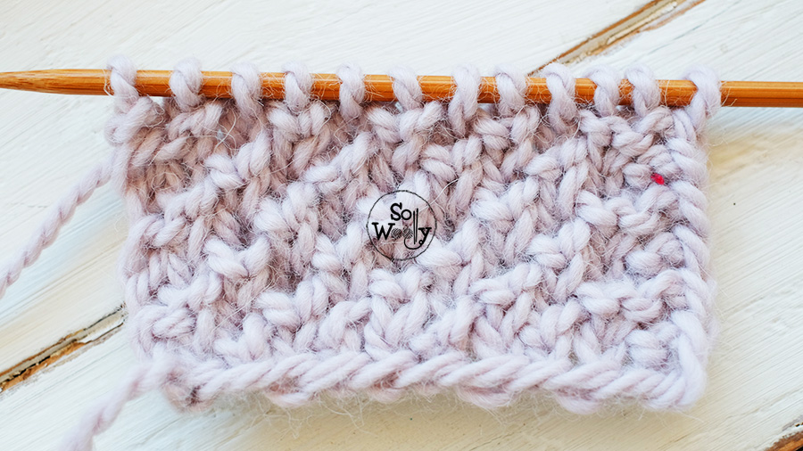 Introduction to Brioche knitting. So Woolly.