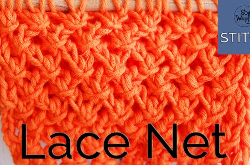 Lace Net stitch
