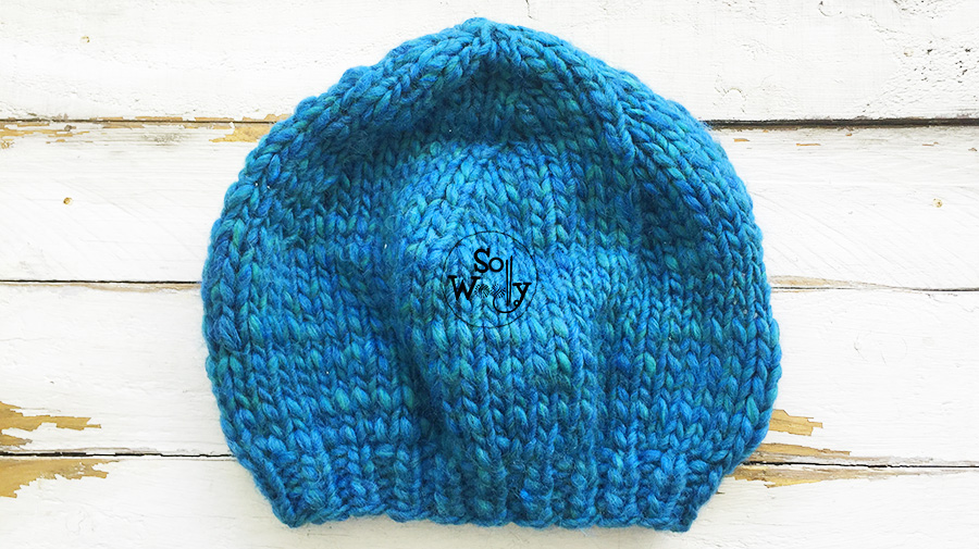 How to knit a basic French beret for beginners, step by step. So Woolly.
