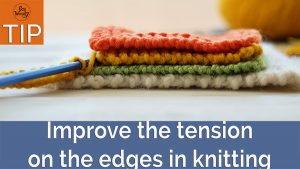 Improve the tension on the edges