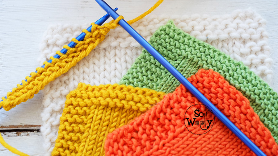 Knitting tips and tricks for beginners: How to improve the borders. So Woolly.