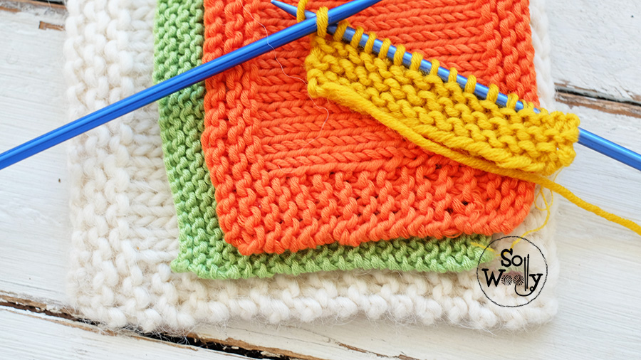 Tips and tricks for better knitting edges. Free guide and video tutorial. So Woolly.