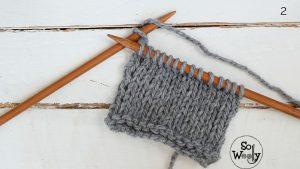 Stocking stitch only knitting