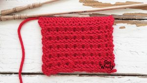 Free knitting patterns for beginners and video tutorials