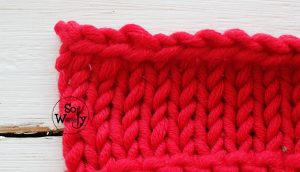 How to bind off the last stitch in knitting