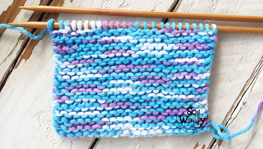 Easy free knitting patterns for beginners step by step, and video tutorials. So Woolly.