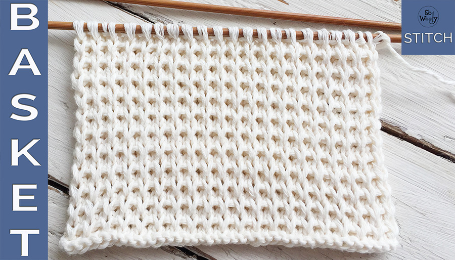 How to knit the Basket stitch chunky and cozy