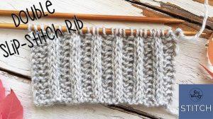 Double Slip-stitch Rib