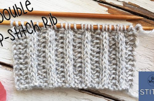 Double Slip-stitch Rib