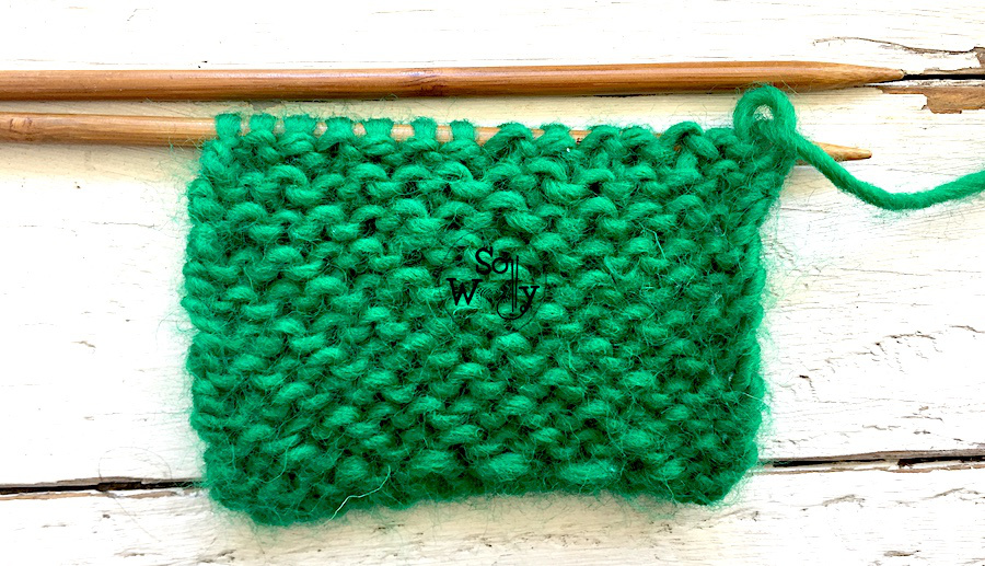 Chunky knitting stitch patterns for beginners. Honeycomb Brioche. So Woolly.