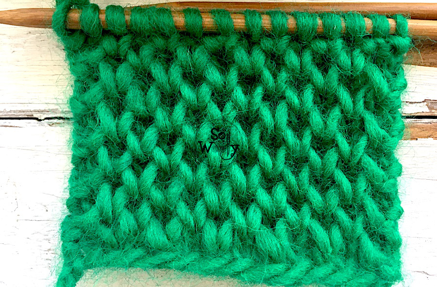How to knit Honeycomb Brioche stitch. So Woolly.