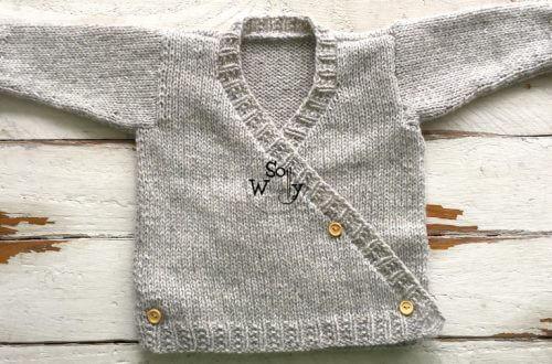Baby Kimono knitting pattern
