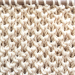 Half Brioche stitch