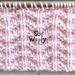 Little Arrows knitting stitch pattern