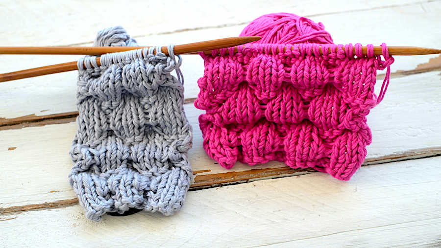 Sttiches for knitting hats blankets and parts of a sweater. So Woolly.