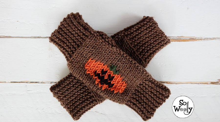 Easy Halloween knitting patterns for beginners. So Woolly.