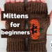 How to knit Mittens for beginners