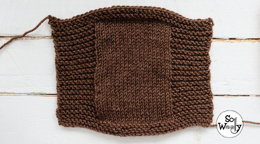 Super easy mitten knitting pattern for beginners (all sizes). So Woolly.